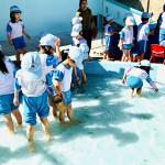 Một số hoạt động trải nghiệm của trẻ trường MNTT Bông Hồng